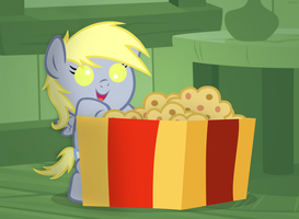 Filly Derpy Xmas Gift by ShinodaGE