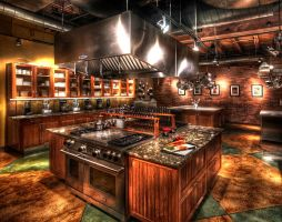 My Kitchen HDR by evrengunturkun