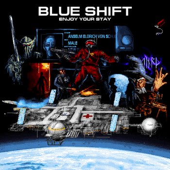 Animus Station 13 Blue Shift lobby picture by Nyancommissar