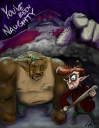 You've Been Naughty by wwatrach
