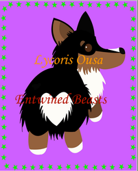 Tri-colored corgi Print by Lycoris-Ousa