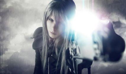 Yazoo - Final Fantasy VII - Advent Children by KujaOnii