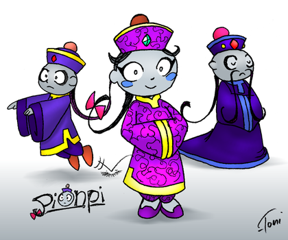 Citizens of Sarasaland: Pionpi by bot-chan