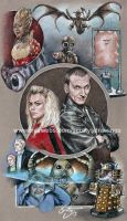 9th Doctor and Rose (2013) by scotty309