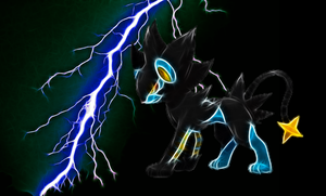 Luxray Wallpaper by Viatrice