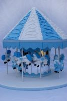Carousel Cake by Verusca