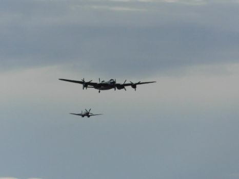 Battle of Britain Memorial Flight, Southport by DaveOnTheRails