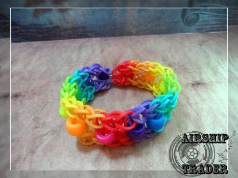 Rainbow Bracelet by Airship-Trader