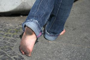 Dirty barefoot jeans 1 by pn99