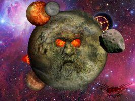 EGO The Living Planet by TheDemonEtrigan