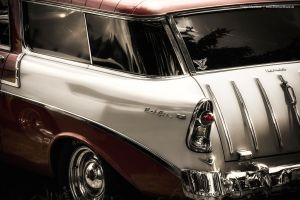 1956 Bel Air Station Wagon Detail by AmericanMuscle