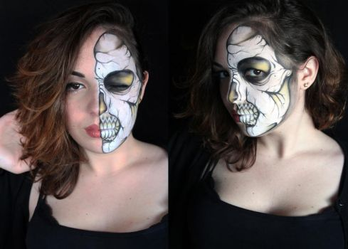 Skull Ronnie Mena by SelyaMakeup