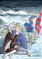 APH - Iceland and Norway by Demon-Lionka