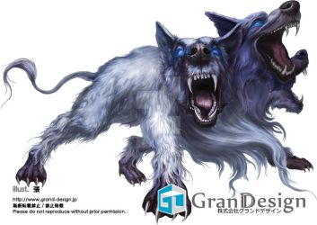 Guardian of the gates of hell - Cerberus by GrandDesign-Artteam