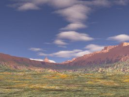 Terragen Stock 007 -  plains by Miarath