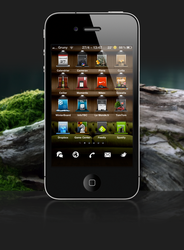 Gruny Theme for iPhone by GrunySo