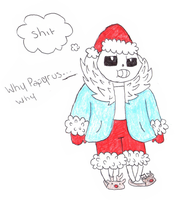 Chistmas Sans by TropicaIDeer