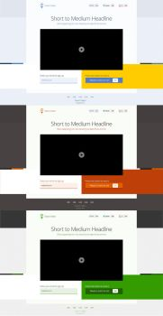 Smart Video landing page by 723media