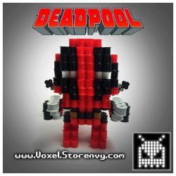 Deadpool 01 original by VoxelPerlers