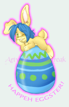 Happeh Eggster by bluefreak