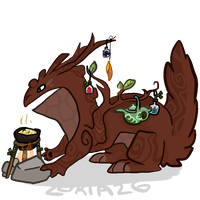 Potion Beast / Tea Master DESIGN SOLD by Lukia26