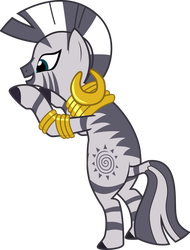 Zecora (about to put down a box) by sakatagintoki117