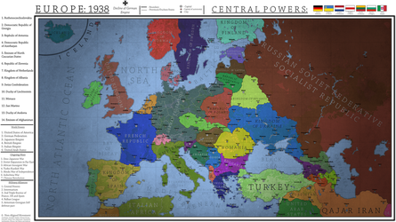 Europe 1938 - Decline of German Empire by Breakingerr