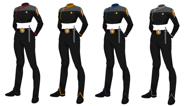 ISS Vanguard Female Officers Uniform variant 3 by docwinter
