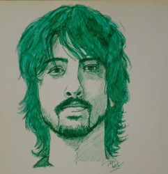 Dave Grohl by hellodevilkaty