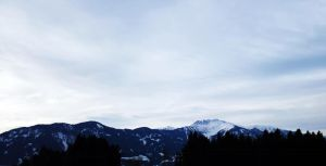 Panorama from the Alps by M-Curiosity