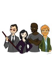 The Defenders, Complete by SabineDraws