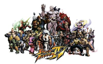 Street Fighter 4 by Lunchbox5388