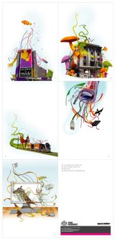 opus atelier_illustrations by PoorDesigners