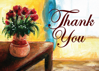 MG - Thank You Vase by Schlady