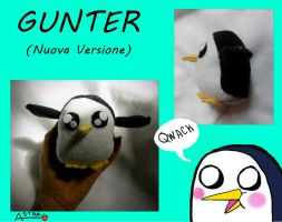 Gunter Plush 2 by DemodexPlush