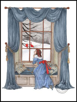 At the Window by Alene