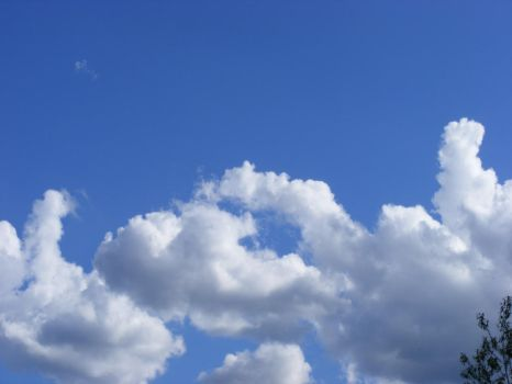 France_Clouds Two by EllenStock