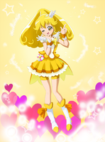Cure Peace is so cute by kashikoma
