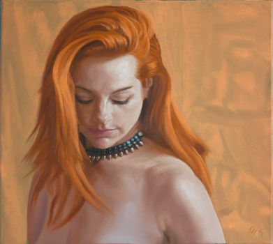 Ginger Portrait by LordSnooty