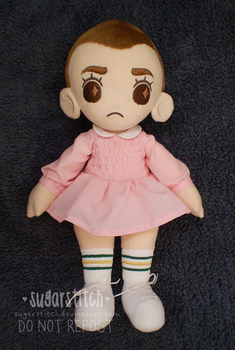 Stranger Things: Eleven by sugarstitch