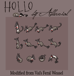Custom Avatar: Smol Hollo by Alluvial