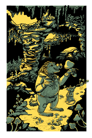 Mister Mole in the Caves of Champignon by Teq-Uila