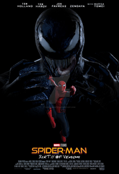 Spider-Man: Birth of Venom movie poster by ArkhamNatic