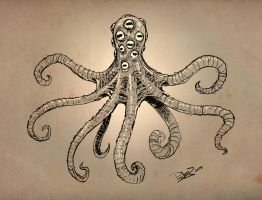 Mutated Octopus by pitnerd