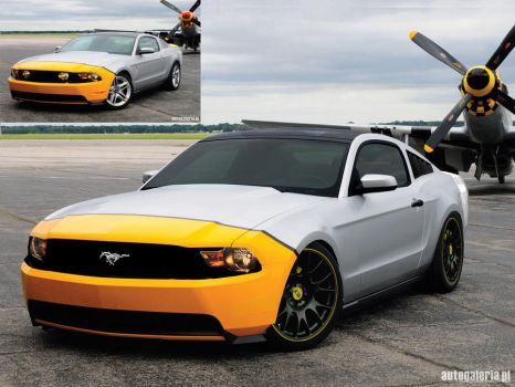 Ford Mustang Airport by guus3