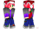 My Minecraft Christmas skin by StarDustHS