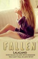 Mock Book Cover - Fallen by Featherlyblow