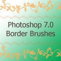 Border brushes for PS 7.0 by spongee0990