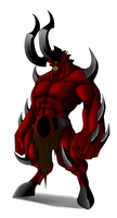 Barbarus Demon by Lordstevie