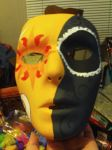 Eclipse Mask Front View by Odinite